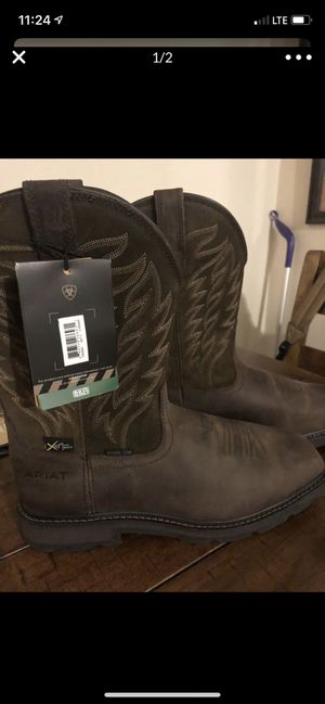 Ariat brand new work boots for Sale in Wichita, KS