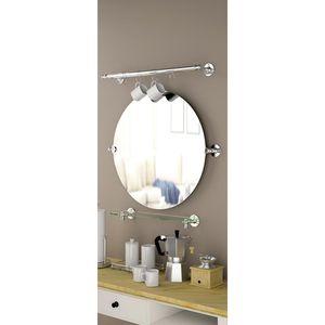 Gatco Cafe 27 in. L x 24 in. W Oval Mirror in Chrome for Sale in Dallas, TX