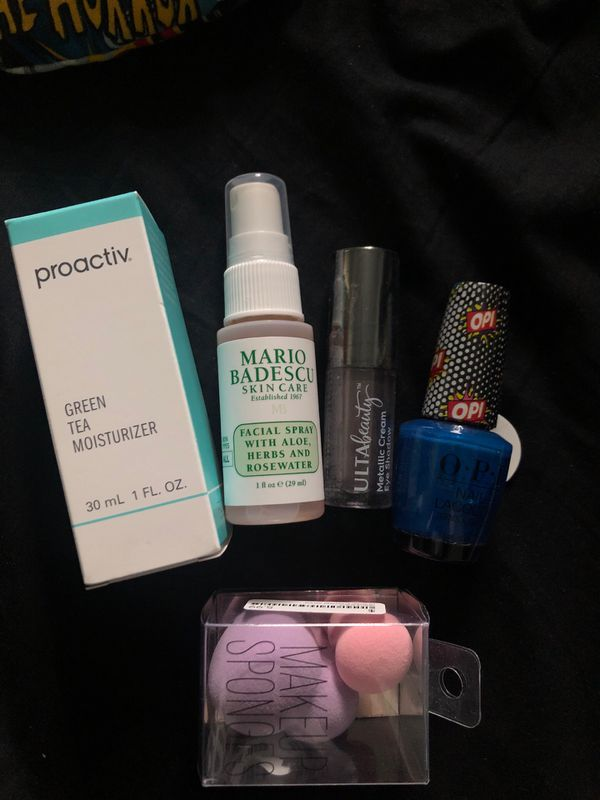 Beauty bundle (makeup, skincare)