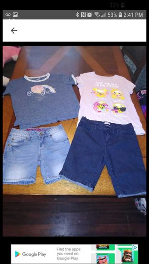 Girls 4 piece summer lot size 10/12 for Sale in Waterford, PA