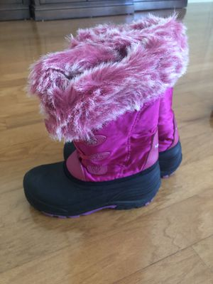 Pink Snow Boots Kids Size 3 - Excellent Condition! for Sale in Hollywood, FL