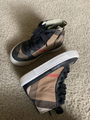 Burberry boy shoes Size 25 for Sale in Houston, TX