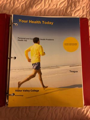 Your Health Today (Personal & Community Health Problems) for Sale in Hesperia, CA