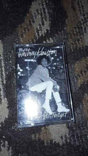 Whitney Houston I'm Your Baby Tonight cassette tape for Sale in Mason City, IA