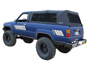 1985 - 1989 Toyota 4runner Black Canvas Soft Top for Sale in Bell, CA
