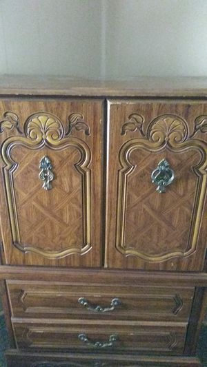Two shelves and a two-door cabinet for Sale in North Little Rock, AR