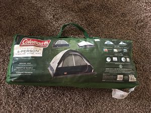 4person camping tent, Coleman for Sale in Roanoke, TX