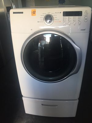 Samsung gas dryer with steam for Sale in Los Angeles, CA