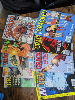 Cracked magazine lot for Sale in Cleveland, OH