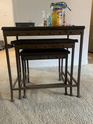 Antique 3 Table Set for Sale in Arlington, VA