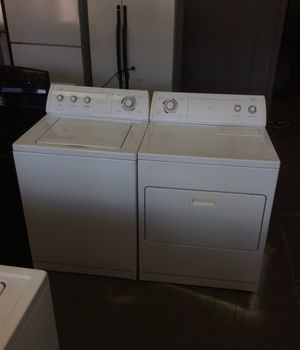 Whirl pool, commercial quality, super capacity plus, washer and electric dryer for Sale in St. Louis, MO