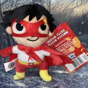 "NEW YouTube Nickelodeon Ryan's world 7"" plush Ryan the red Titan super hero. for Sale in Bellflower, CA"