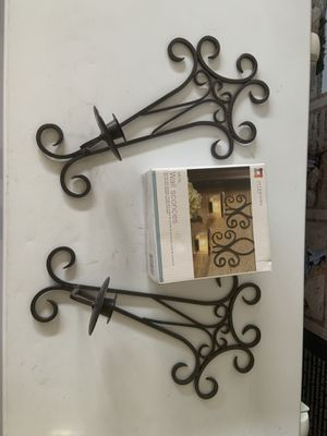 Wall sconces for candle sticks for Sale in Peoria, AZ