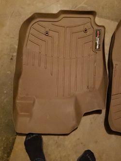 Toyota Rav4 Weather Tech floor mats -tan for Sale in Chesapeake,  VA