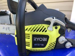 Ryobi 3716 chainsaw for Sale in Stow, MA