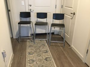 """IKEA 24 1/2"""" set of 3 barstools for Sale in Hillsboro, OR"""