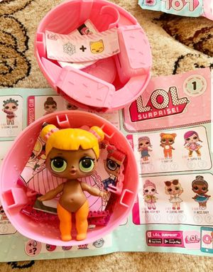 Lol baby cat series 1 doll and baby dog pet for Sale in River Grove, IL