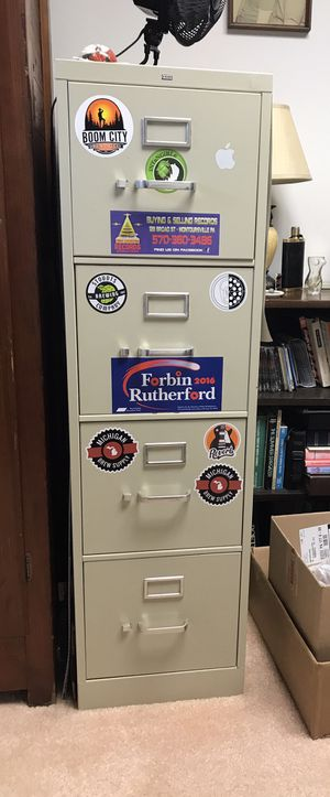 Metal Filing Cabinet for Sale in Hughesville, PA