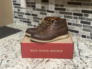 Red Wing Boots 3137 Work Chukka Heritage Copper Rough and Tough for Sale in Salinas, CA