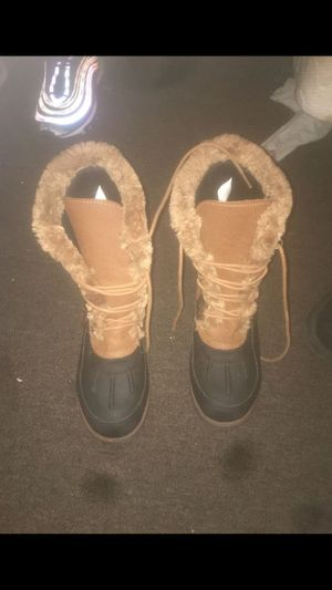 Fur hightop boots for Sale in Alexandria, VA