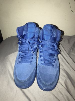 Air Jordan 1 Blue Suede for Sale in Kissimmee, FL