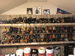 Baseball and softball gloves for Sale in Annandale, VA