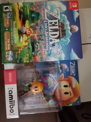 The Legend of Zelda: Link's Awakening: Dreamer Edition - Nintendo Switch & Amiibo Bundle for Sale in Lake Mary, FL