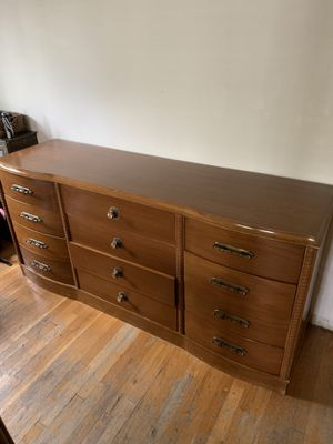Antique Wooden Dresser for Sale in East Rockaway, NY