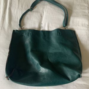 Teal Faux Leather Purse for Sale in Seattle, WA
