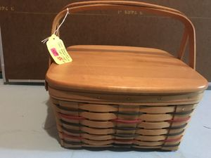 Longaberger Woven Traditions Cake Basket for Sale in Canton, MI