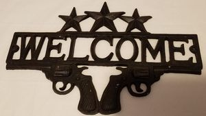 Gun sign for Sale in Tuscola, TX