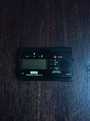 Korg guitar bass tuner music recording for Sale in West Covina, CA
