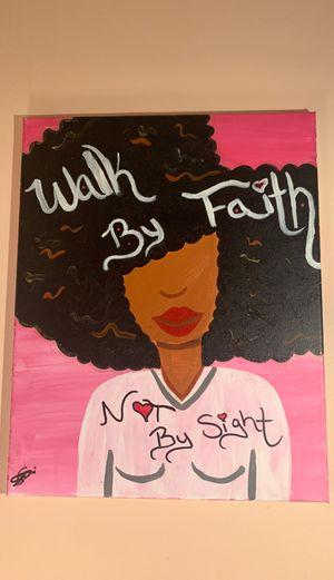 Faith Based Artwork For Brown Girls for Sale in Columbus, OH