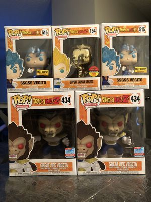 Funko Pop Dragon Ball Z Collection for Sale in Arlington, TX