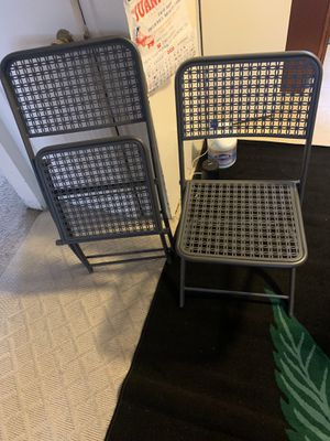 Folding chairs for Sale in Encinitas, CA