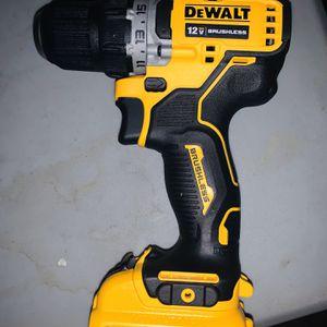 De Walt Drill 12v Con Batería Nuevo (no Cargador) for Sale in Houston, TX