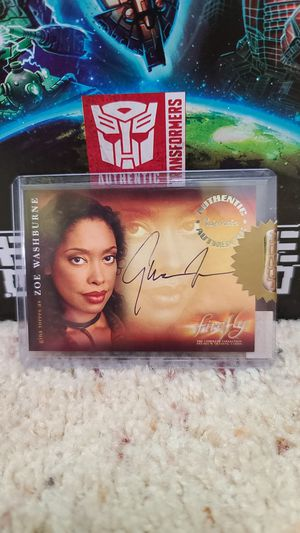 Inkworks autograph of Gina Torres as Zoe Washington in Firefly for Sale in Seattle, WA