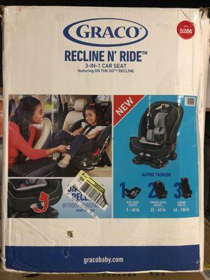 Graco Recline N' Ride 3-in-1 Convertible Car Seat, Alpine for Sale in Garden Grove, CA