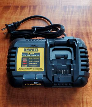 NEW DeWALT 6amp DCB1106 12vMAX/20vMAX/60v FlexVolt Battery Charger for Sale in CORNWALL Borough, PA