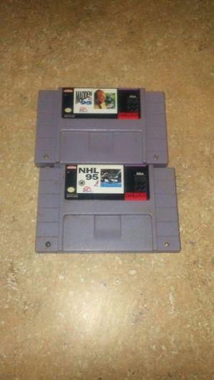 Super Nintendo games for Sale in Marietta, GA
