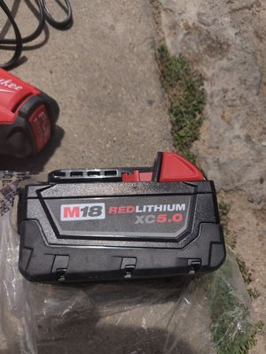 Milwaukee 5.0 brand new battery for Sale in Guadalupe, CA