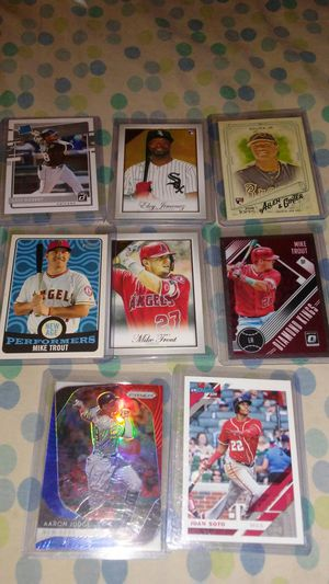 Baseball Card's Bundle(8 card's) for Sale in Chicago, IL