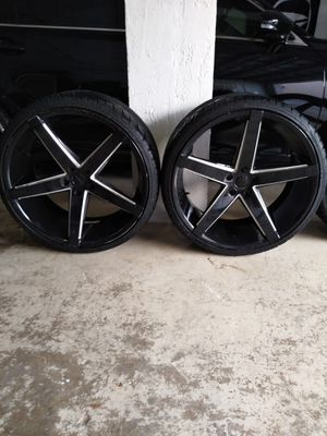"22"" Rosso Rims for Sale in Pompano Beach, FL"