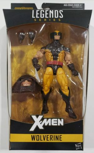 Marvel Legends X-Men Wolverine Collectible Action Figure Toy with Juggernaut Build a Figure Piece for Sale in Chicago, IL