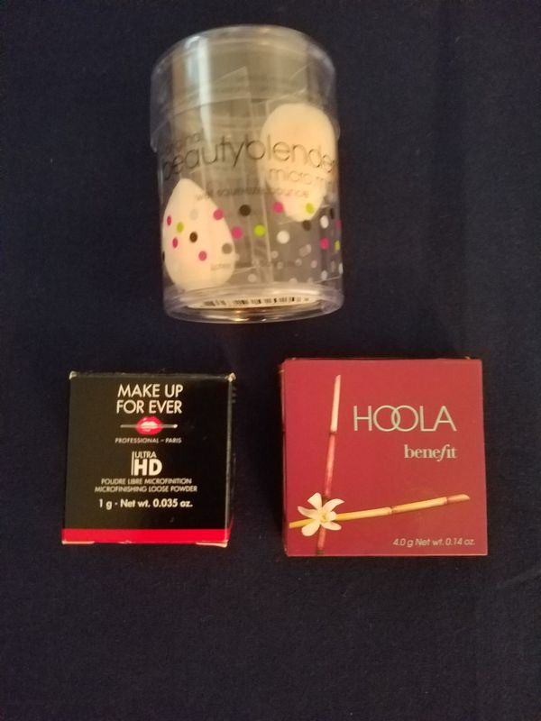 Make up forever, Hoola, beauty blender