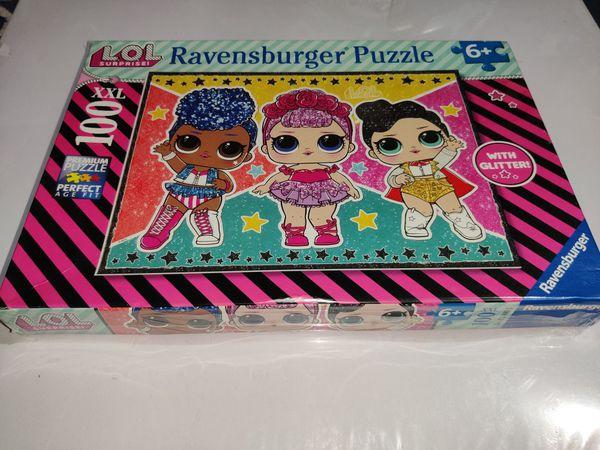 RAVENSBURGER UK 12881 RAVENSBURGER LOL SURPRISE XXL 100PC JIGSAW PUZZLE WITH GLITTER