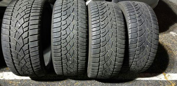 4 19in tires. Winter dunlop. 235/35r19