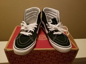 Green and white Vans for Sale in Tampa, FL