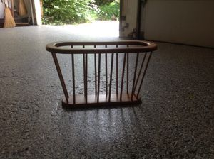 Solid wood magazine rack for Sale in Elgin, IL