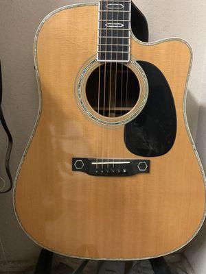 Martin aura acoustic electric guitar for Sale in Garden Grove, CA